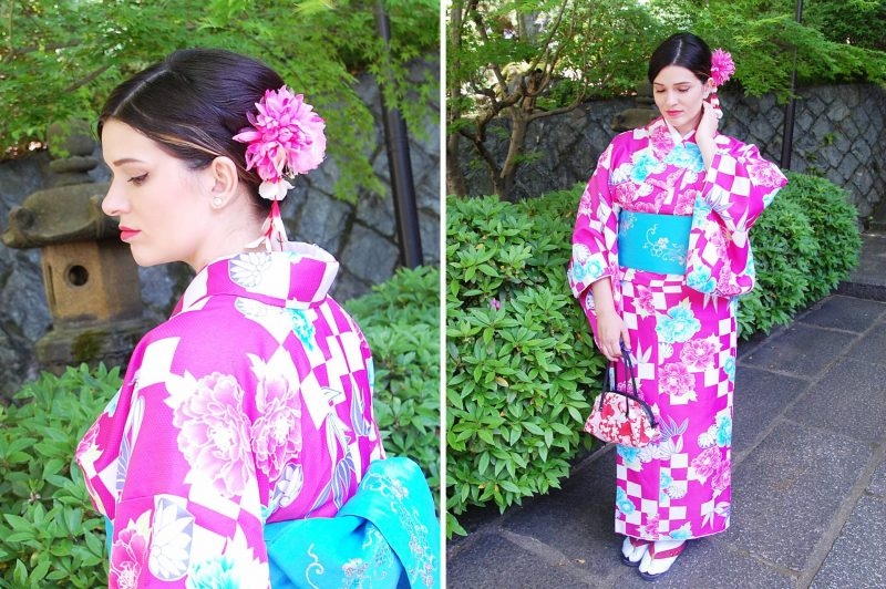 Fotoshoot in Japan | Gekleed in Yukata's