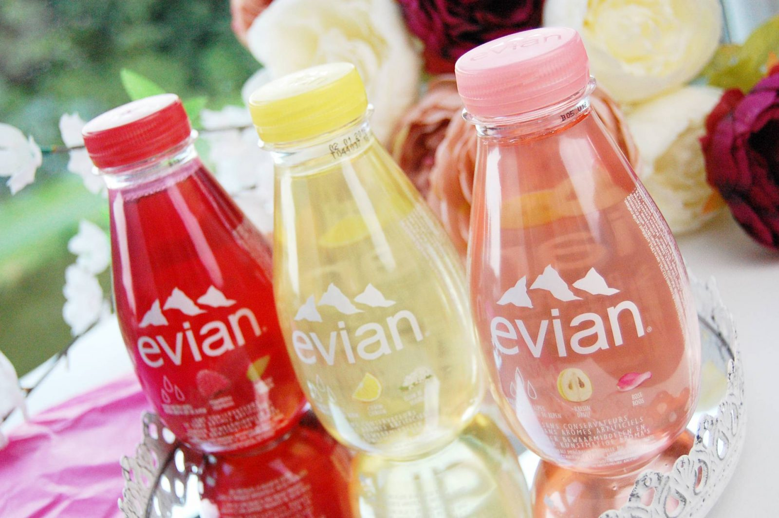 Review | Flesjes Evian fruits & plants